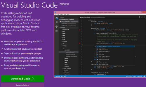 Review de Visual Code Editor