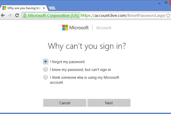 Cómo resetear tu password en Windows 10